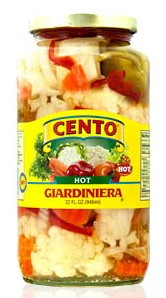 Cento Hot Giardiniera 32 oz.