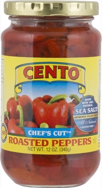 Cento Chef's Cut Roasted Peppers 12 oz.