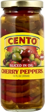 Cento Sliced Cherry Peppers in Oil