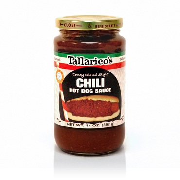 Tallarico's Chili Hot Dog Sauce