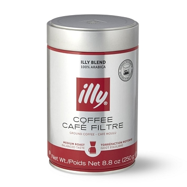 illy Ground Espresso Medium Roast
