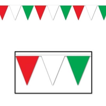 Outdoor Pennant Banner 120'